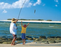 Fishing, Caloundra